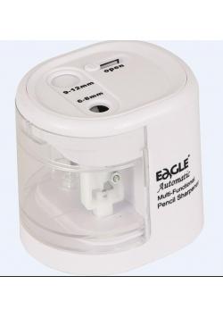 Temperówka na baterie dwuotworowa biała EG-5161