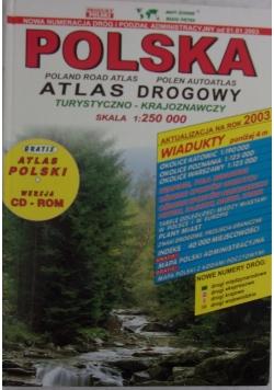 Polska. Atlas drogowy