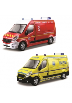 Renault Master Ambulans Straż 1:50 BBURAGO