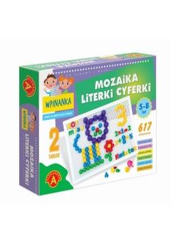 Wpinanka-Mozaika Literki i cyferki
