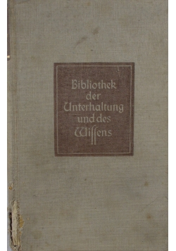 Bibliothek der Unterhaltung und des Wiffens, ok. 1950