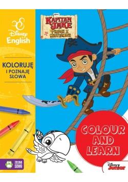 Colour and learn! Jake. Koloruję.. Disney English