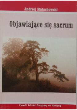 Objawiające się sacrum