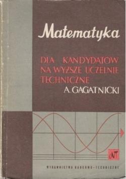 Matematyka dla kandydatów na wyższe uczelnie techniczne