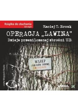 Operacja ˝Lawina˝ audiobook