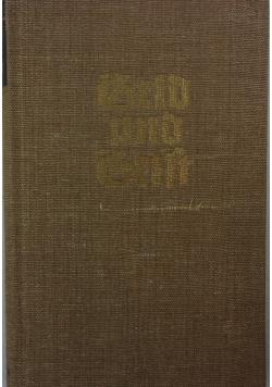 Geld und Geist, 1949 r.