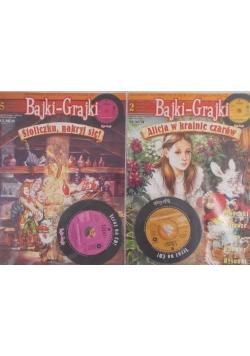 Bajki-Grajki z płytą CD nr 5 i 2