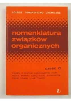 Nomenklatura związków organicznych, część C