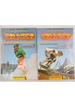 Sowieso. Lehrerhandbuch 1-2, 2 książki