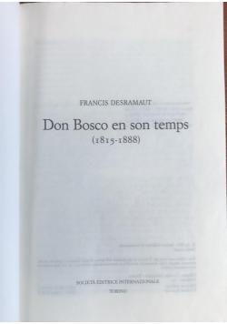 Don Bosco en son temps (1815 - 1888)