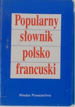 Popularny słownik polsko francuski