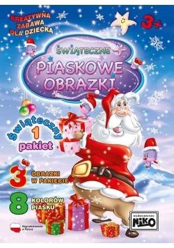 Piaskowe obrazki pakiet świąteczny 1