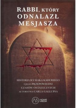 Rabbi  który odnalazł Mesjasza