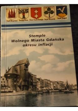 Stemple wolnego miasta Gdańska okresu inflacji