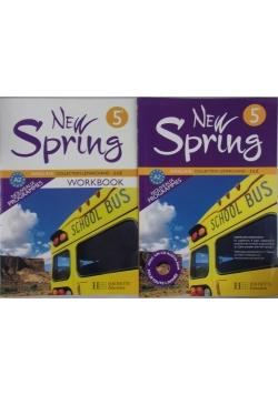 New Spring 5, podręcznik i ćwiczenia