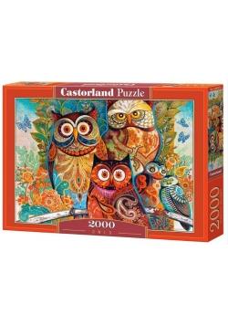 Puzzle 2000 Sowy CASTOR