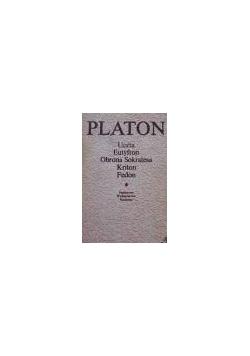 PLATON Uczta Eutyfron Obrona Sokratesa dialogi