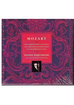 Mozart: The Complete Piano Concertos  (CD) NOWA
