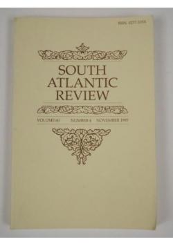 South Atlantic Review. Vol. 60. No. 4 1995