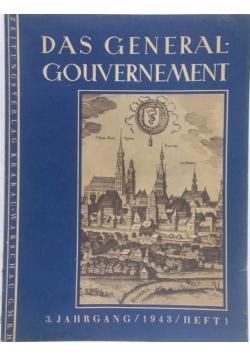 Des Generalgouvernement I, 1943 r.