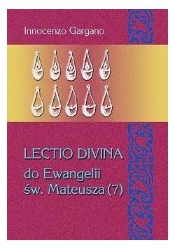 Lectio divina do Ewangelii św. Mateusza