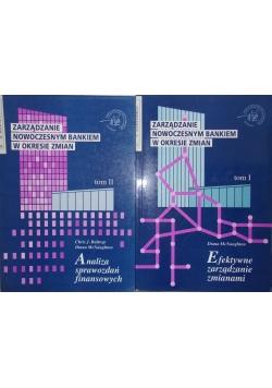 Zarządzanie nowoczesnym bankiem w okresie zmian, t. I-II
