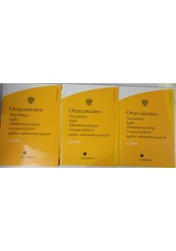 Orzecznictwo naczelnego sądu administracyjnego i wojewódzkich sądów administracyjnych, nr 1.1, 2.2 i 3.3