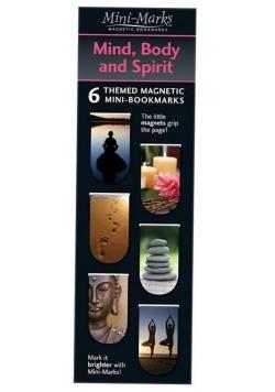Zakładki magnetyczne Mind Body and Spirit 6 sztuk