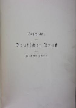 Gelchichte Deutlchen Kunft, 1890 r.