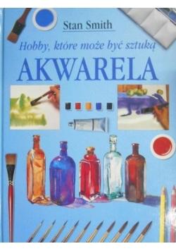Hobby, które może być sztuką Akwarela