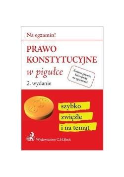 Prawo konstytucyjne w pigułce wyd.2