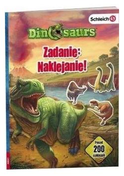 Dinosaurs. Zadanie: Naklejanie!