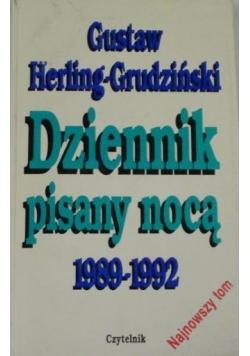 Dziennik pisany nocą 1989-1992