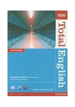 New Total English Advanced Students' Book with ActiveBook plus Vocabulary Trainer