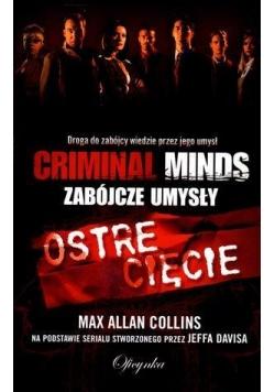Ostre cięcie. Criminal Minds. Max Allan Collins