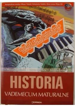 Historia. Vademecum maturalne + CD