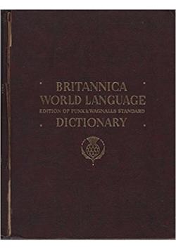 Britannica world language dictionary, tom II