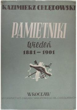 Pamiętniki Wiedeń 1881-1901