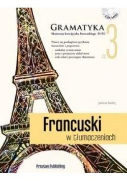 Francuski w tłumaczeniach. Gramatyka 3 + CD, Niowa