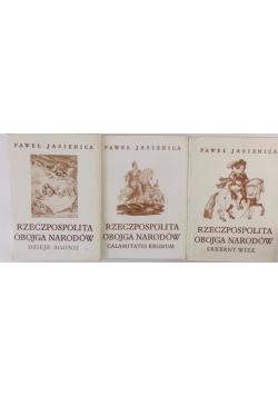 Rzeczpospolita Obojga Narodów-Zestaw 3 książek