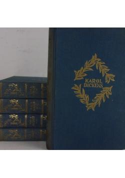 Little Dorrit Tom I-II , III-IV , V-VI , VII-VIII  , Dawid Copperfield Tom III-IV ,, 1930 r.