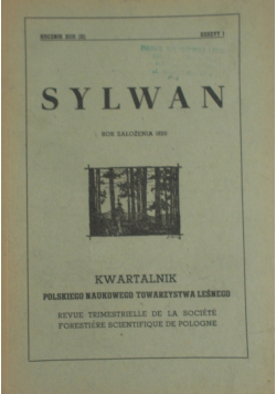 Sylwan Zeszyt 1/1948