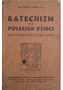 Katechizm dla Polskiego dzieci ,1938r.