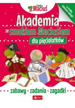 Akademia ze Smokiem Maciusiem dla pięciolatków.
