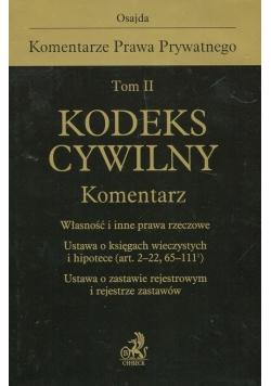 Kodeks cywilny Komentarz Tom 2