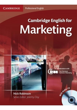 Cambridge English for Marketing Student's Book + CD