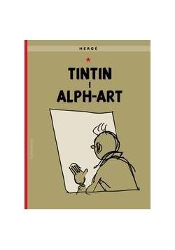 Przygody Tintina.Tintin i alph-art