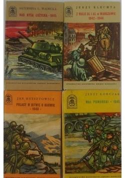 Bitwy, kampanie, dowódcy, 4 książki