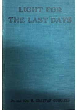Light for the last days, 1928r.
