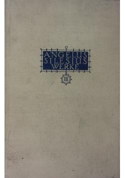 Angelus Silesius  Werke,  Band 3